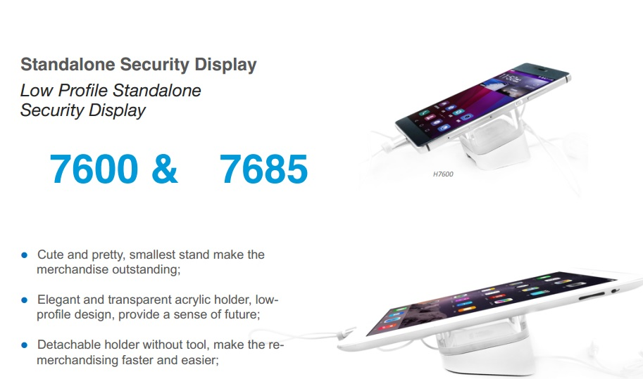 Standalone Security Display Stand 7600